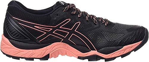Asics ASICS Damen Gel-Fujitrabuco 6 G-TX Traillaufschuhe, Schwarz (Black/Begonia Pink/Black 9006), 39 EU