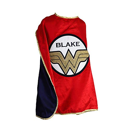 Everfan Personalized Youth Wonder Woman Cape