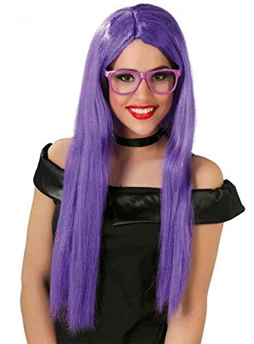 comprar pelucas largas moradas on line