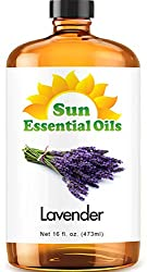 Lavender Essential Oil by Sun Essentials, 16oz