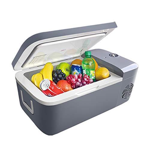 12 Liter Tragbarer Gefrierschrank Kühlschrank, Auto Kühlschrank, Home Mini Kühlschrank Mit Kompressor Und Drehschaltern, 5 Kühlstufen, -18 ° C ~ 10 ° C, 12~24 V / 110 V ~ 220 V.