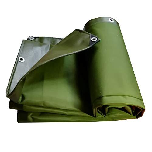 YXX-Abdeckplane Grüne Plane Hochleistungs-wasserdichte, dicke Campingzelte Poly-Plane mit Ösen, 600 g/m² (Size : 3mx10m)
