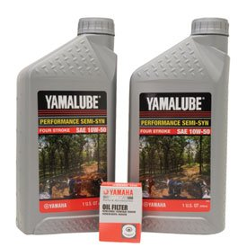 Yamalube Oil Change Kit 10W-50 for Yamaha YZ250F 2001-2013