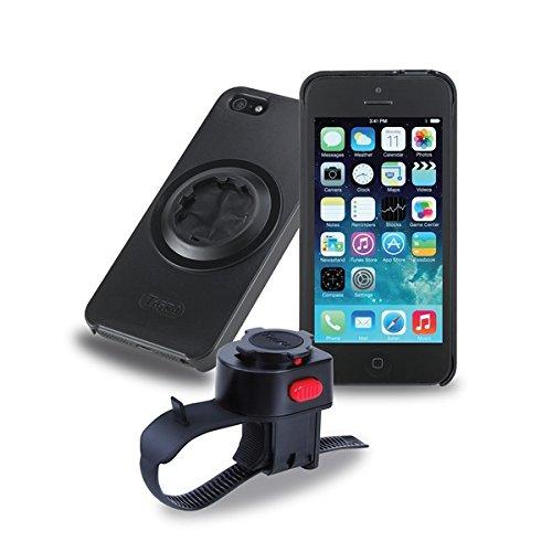 Tigra Sport MCBIKEIP5 - Soporte para móviles Apple iPhone 5/5S, Negro
