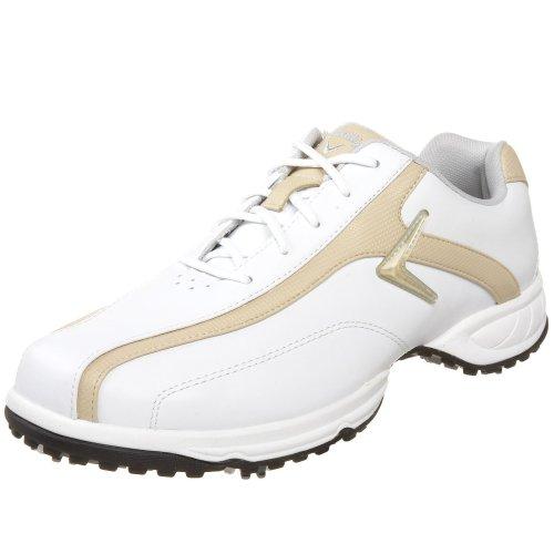 Callaway Women's Chev Comfort - W Golf Shoe,White/Bone,US Women's 10 M
