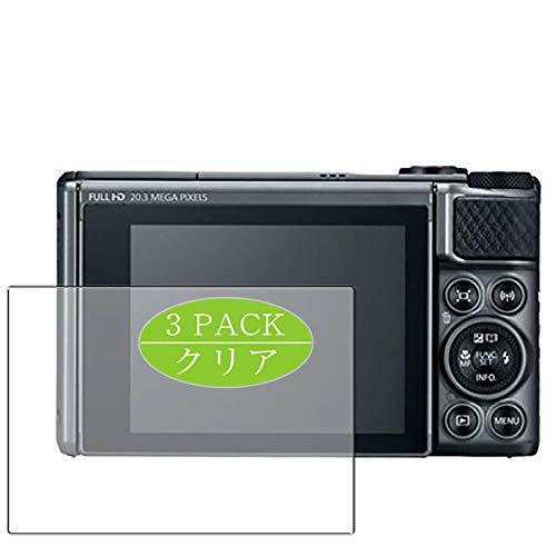 Vaxson 3 Stück Schutzfolie kompatibel mit Canon PowerShot SX730 HS, Displayschutzfolie Bildschirmschutz Blasenfreies [nicht Panzerglas]