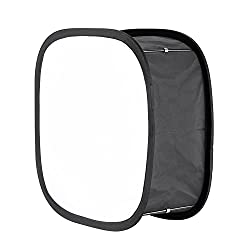 Neewer Softbox Foldable diffuser for light panel 660 LED - outside 41 x 17,5 cm inside 14,2 x 17,2 cm with fastening strap & transport bag for photography
