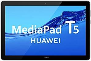 "HUAWEI MediaPad T5 - Tablet de 10.1"" FullHD (Wifi, RAM de 3GB, ROM de 32GB, Android 8.0, EMUI 8.0), Color Negro"