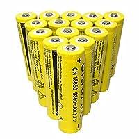 充電式バッテリー18650バッテリー3.7V9800Mah充電式リチウムバッテリー。3.7V10個
