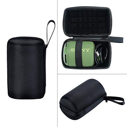 Mini Estuche de Altavoz inalámbrico portátil a Prueba de Golpes para Sony SRS-XB10 Estuche de Transporte de Altavoces inalámbricos