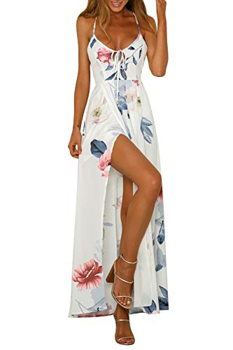 Onsoyours Rebajas Vestidos Mujer Casual Verano Vestidos Sexys Y Elegantes Moda Mujer 2019 Rebajas Vestidos Vestidos De Mujer Verano Vestidos De Fiesta Comuniones Vestidos G Blanco 34