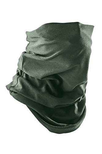DRIFIRE CAT2 Flame Resistant Cold Weather Neck Gaiter Foliage Green, Universal