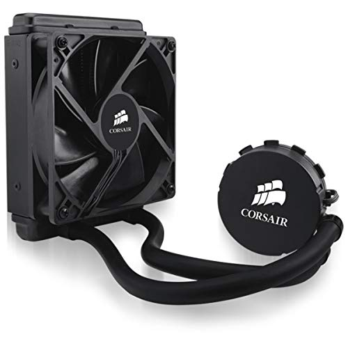 Corsair Hydro H55 Wasserkühlung (120mm Lüfter, All-in-One High Performance CPU) schwarz