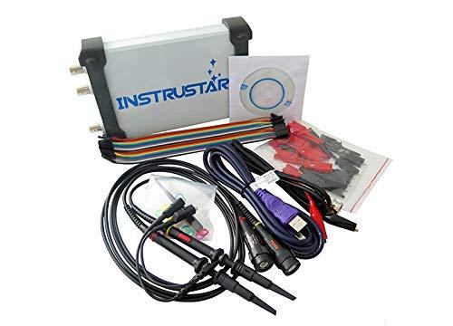 SISHUINIANHUA ISDS205X Virtual PC USB-Oszilloskop DDS-Signal- und Logikanalysator 2CH 20 MHz Bandbreite 48MSa / s 8-Bit-ADC-FFT-Analysator