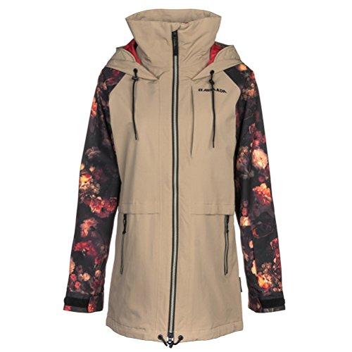 ARMADA Damen Gypsum Snowboard Jacke, beige, XS EU