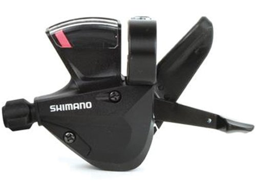 SHIMANO Acera SL-M310 Rapid Fire Shifter, Left (Black, 3-Speed)
