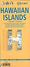 Laminated Hawaiian Islands Map by Borch (English Edition)