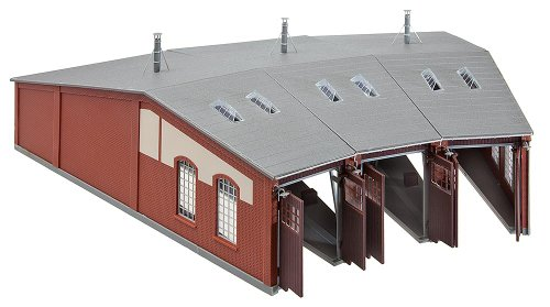 Faller 120177 3-Stall Engine Roundhouse HO Scale Building Kit