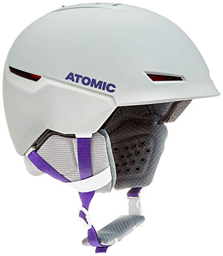 ATOMIC Revent+ AMID Casco de esquí All-Mountain, Cumple con Las Normas de Seguridad diámetro de Cabeza 55-59 cm, Unisex, Gris Claro, M