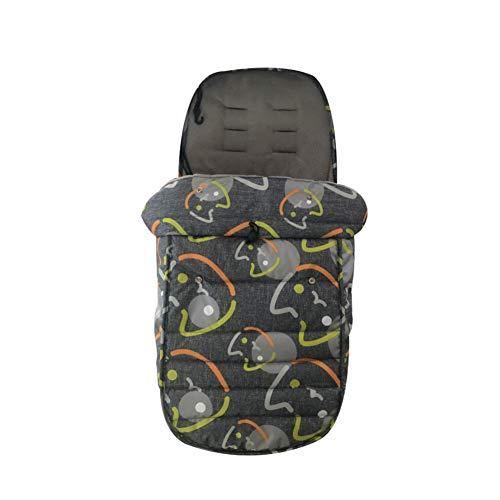 Universal 3 in1 Baby Sleeping Bag Winter Outdoor Toddler Footmuff Stroller Soft Velvet Bunting Bag Cold-Proof Waterproof Detachable