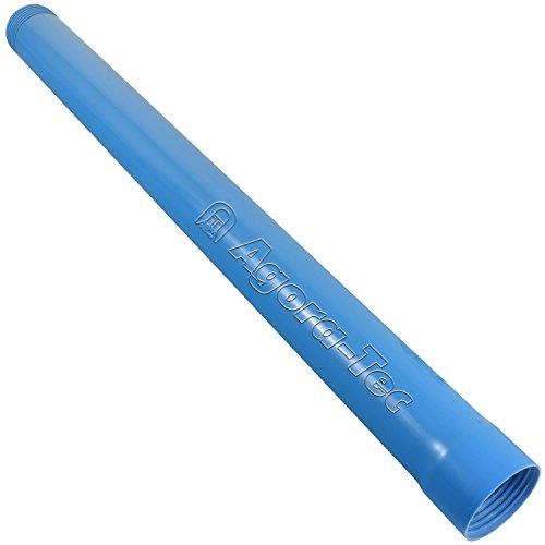 Agora-Tec Brunnenrohr (Vollwandrohr) 3 Zoll DN 80 blau 1 Meter für den Bau eines Tiefbrunnen