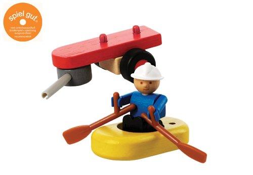 Woody Click 1040411 - Feuerwehr Rettungsboot & Zubehör