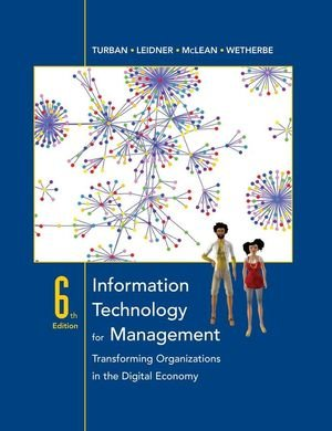 Information Technology for Management (Wiley Plus Products)