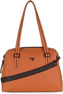 Baggit Women's Top Handle Bag (Orange)