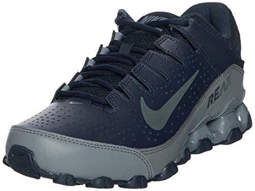 Nike Men's Reax 8 TR Training Shoe, Zapatillas de Gimnasia Hombre, Multicolor (Dark Obsidian/Dark Grey/Cool Grey 400), 43 EU
