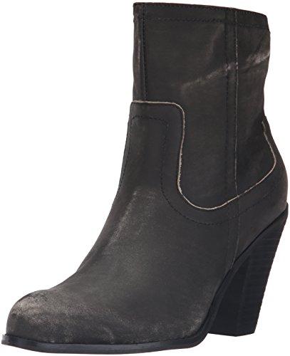 Corso Como Women's Harvest Ankle Bootie, Black Worn Leather, 6.5 M US