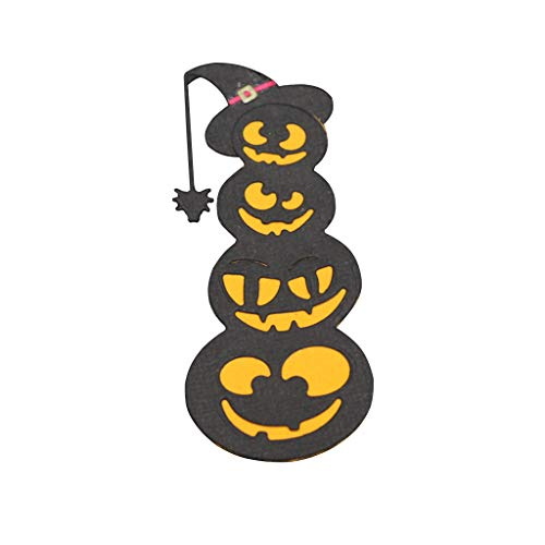 Mr. Better Perforadora – Troquel, Halloween Calabaza Scrapbooking Plantillas Relieve lonen para Repujado, para Sizzix Big Shot/Cuttlebug/y Otros Embossing Machine