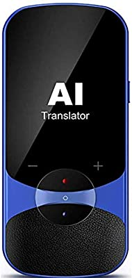 Language Translator Device Supports Offline Translation Assistance Super Accuracy Online Translation Audio Memo Camera Translation,106 Languages Two Way Translation for Travelling Learning Business from Buoth