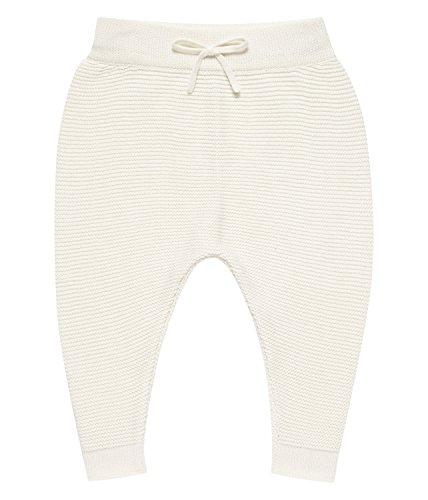Sense Organics Proust Baby Hose, gestrickt Pantalon, Blanc (Ivory), 6 Mois Mixte bébé