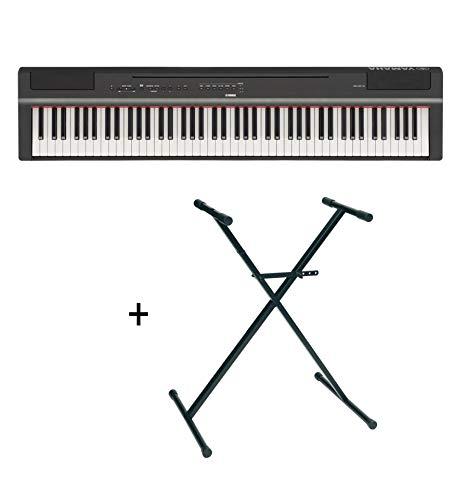 Pack Yamaha P125 noir - Piano numérique - 88 touches + stand en X