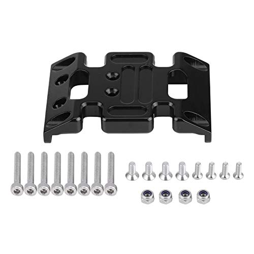 Zouminyy Aluminum Center Skid Plate for Axial SCX10 1:10 RC Car Upgrade Accessory