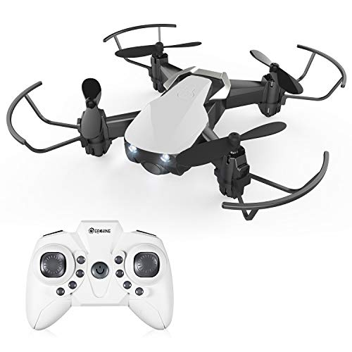 Drones for Kids 8-12 no Phone,EACHINE E61H Macro Drone RC Nano Quadcopter with Auto Hover for Beginners, Extra Batteries, 15 mins Long Flight Time, One Key Take Off/Landing,Toys for Boys and Girl