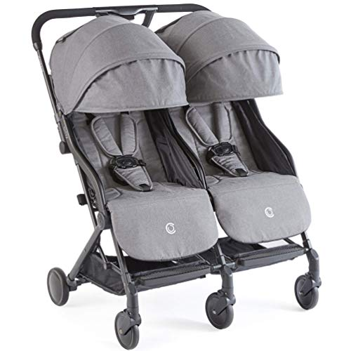 Contours Bitsy Double Compact Fold Lightweight Travel Stroller