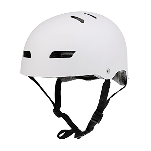 Premium Water Sports Safety Helmet Kayak Canoe Boating Sailing Surfing Board Water Ski Rescue Hard Hat - CE Approved - Dumb White
