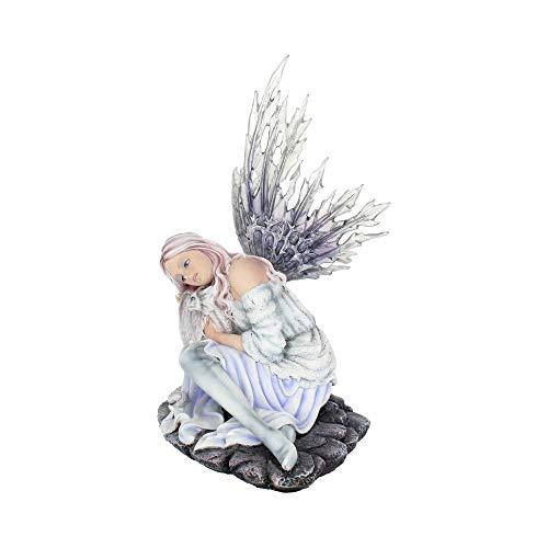 Nemesis Now - Statuetta Alanis, 22 cm, Colore: Viola, 26 cm