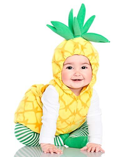 Carter's Baby Halloween Costume (Little Pineapple Yellow, 18 Months)