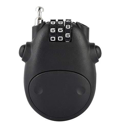 Sonew 3 Digit Code Kombination Passwortsperre für Kinderwagen Fahrradkinderwagen Passwort Sicherheitsschloss(Black)
