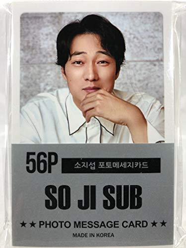 ソ・ジソブ So Ji Sub グッズ / フォト メッセージカード 56枚 (ミニ ポストカード 56枚) セット - Photo Message Card 56pcs (Mini Post Card 56pcs) [TradePlace K-POP 韓