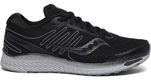Saucony Women's S10543-35 Freedom 3 Running Shoe, Blackout - 8.5 M US