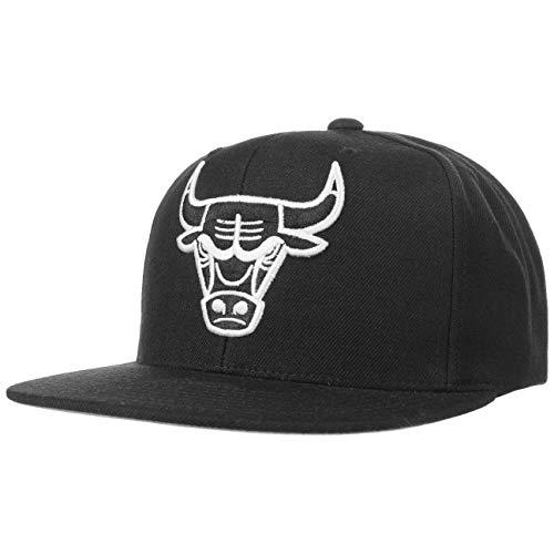Mitchell & Ness Gorras Chicago Bulls Wool Solid Black/White...