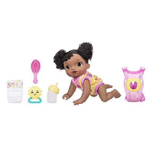 Muñeca Baby AliveBaby Go Bye Bye, afroamericana