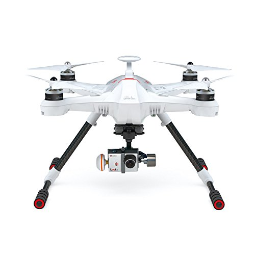 Walkera Scout X4 GPS Brushless Quadcopter with Devo F12E Transmitter, iLook+ Camera, 3D Gimbal and Ground Station RTF, FPV2 Version, White