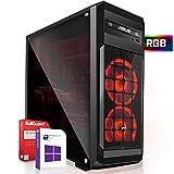 AMD Ryzen 3 3200G 4x4.0GHz PC-System inkl. 512GB M2 SSD und 1000GB | 16GB RAM |VEGA8 DX12 HDMI | Win 10 64Bit | WLAN |Leise ! Geeignet für Gaming/Office