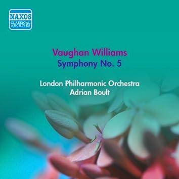 Vaughan Williams, R.: Symphony No. 5 (Boult) (1953)
