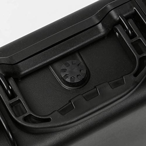 DJFEI Hard Tragetasche für DJI Mini 2, Portable Wasserdicht Hart Handtasche Tragetasche Taschen für DJI Mavic Mini 2 Drone, Fernbedienung und 3 Batterien (Schwarz)