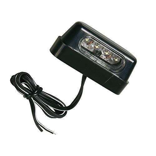Lampa 90162 Luce Targa a 4 LED - Bianco - Omologato